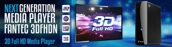 new 3DFHDN 3D Full HD Media Player