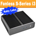 Fanless S-Series PC Core i3 7100T, 8GB, 128GB SSD, Dual LAN [ASUS Q170T]