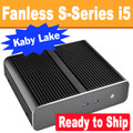 Fanless S-Series PC Core i5 7400T, 8GB, 128GB SSD, Wifi, Bluetooth [Ready to Ship]