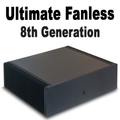 Ultimate Fanless Mini PC, i7 8700T 8th Gen, Dual Intel LAN, Displayport, HDMI 2.0, 8GB, 250GB SSD [H310TN]