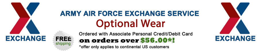 AAFES Associate Apparel