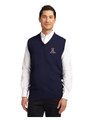 UNISEX Sleeveless Sweater Vest with X Exchange Logo - Navy