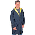 RAINCOAT - UNISEX - Navy with sleeve XEX logos