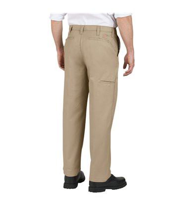 Dickies Premium Flat Front Comfort Waist Pants With Cell Phone