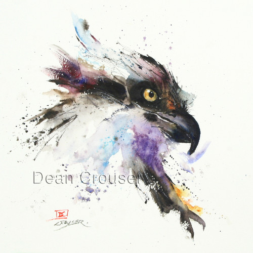 FISH HAWK signed and numbered Osprey print. Edition limited to 400.