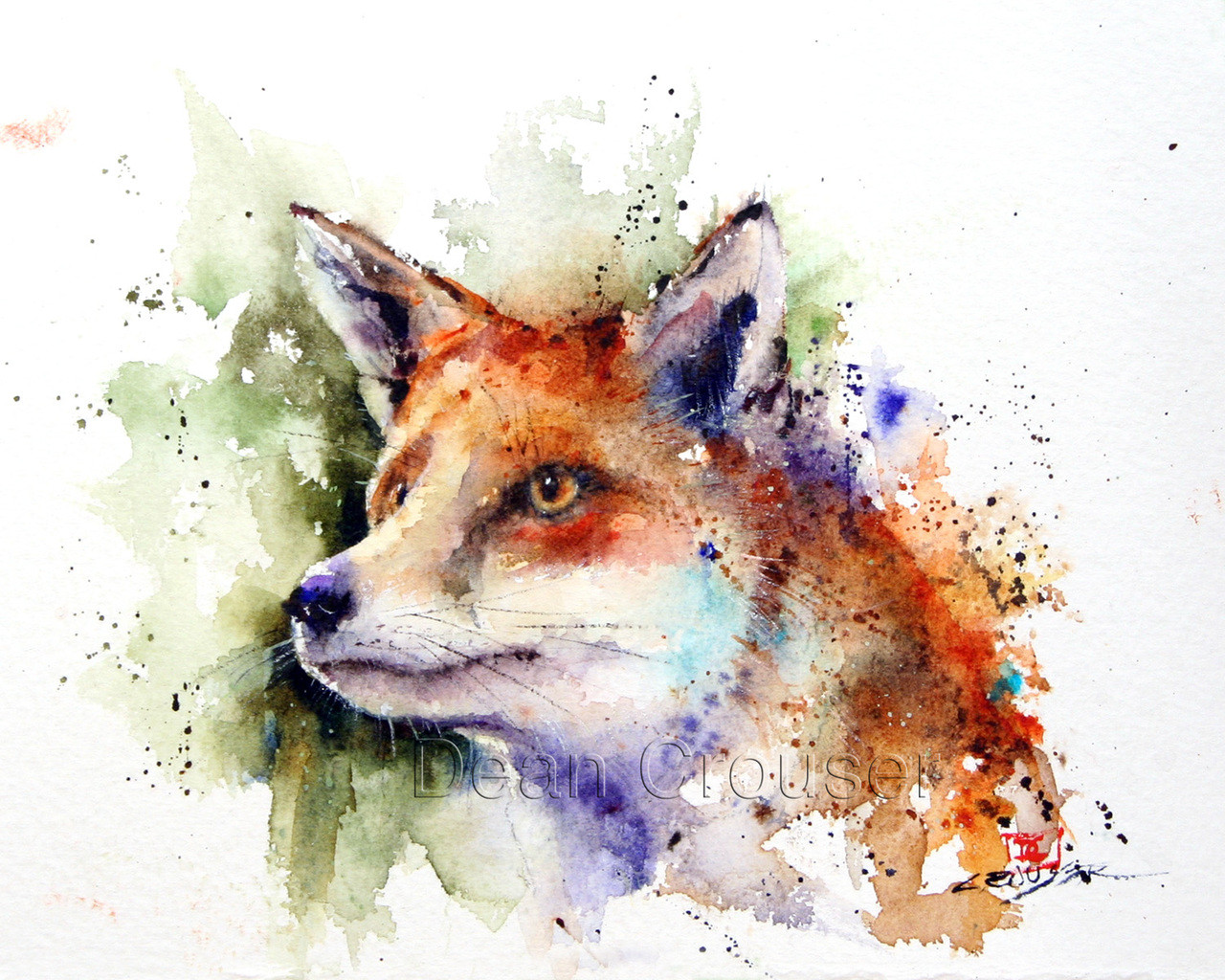 Red Fox The Art Of Dean Crouser