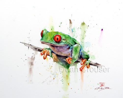 Tree Frog The Art Of Dean Crouser