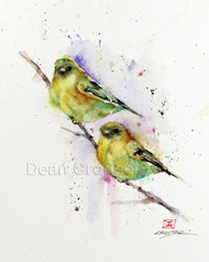 'GOLDFINCH PAIR'