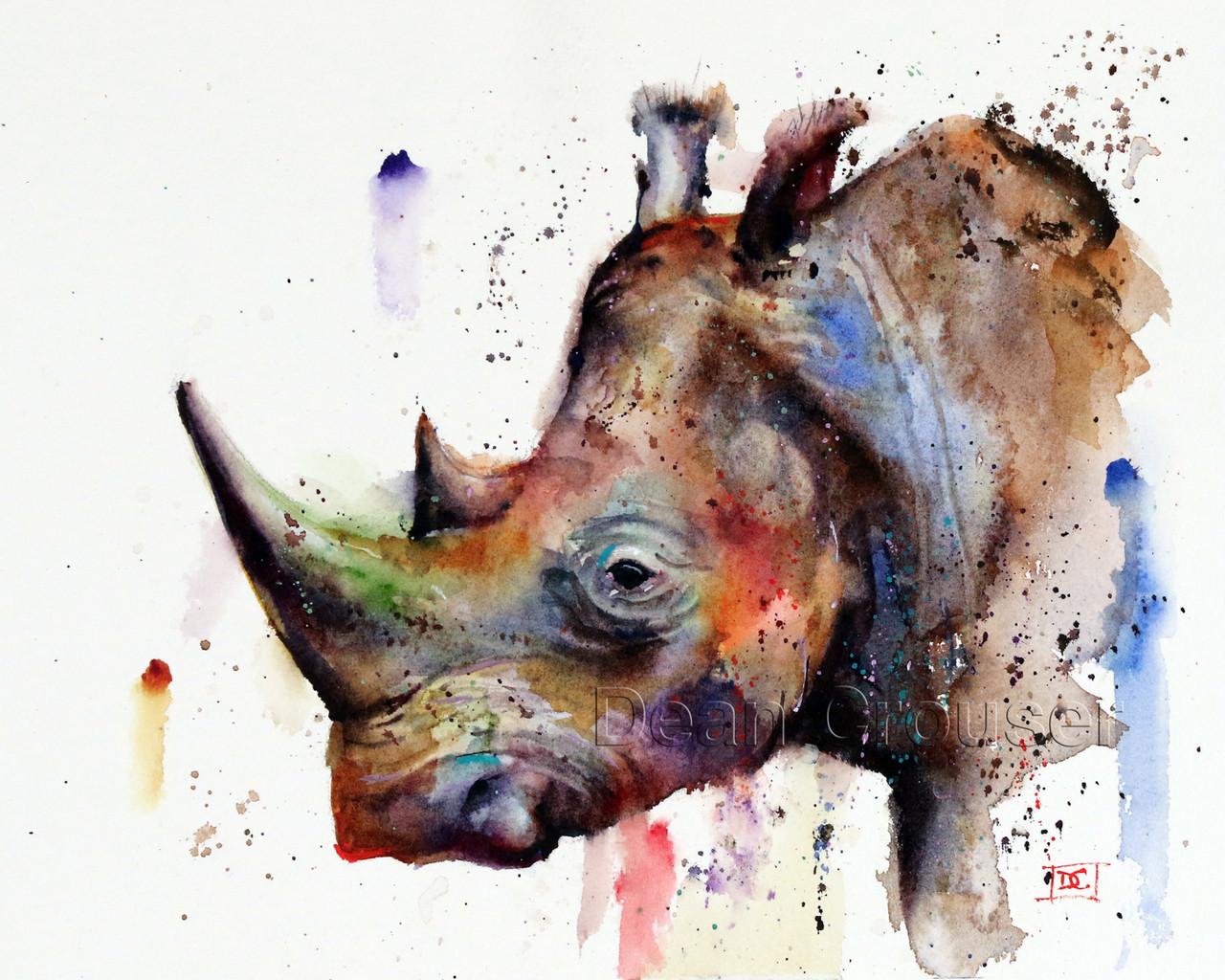 Rhino The Art Of Dean Crouser