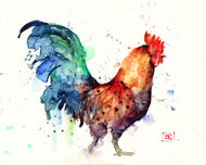 """GALLO"" rooster art from an original watercolor painting by Dean Crouser. Available in a variety of products including signed and numbered limited edition prints, ceramic tiles, greeting cards and more!"