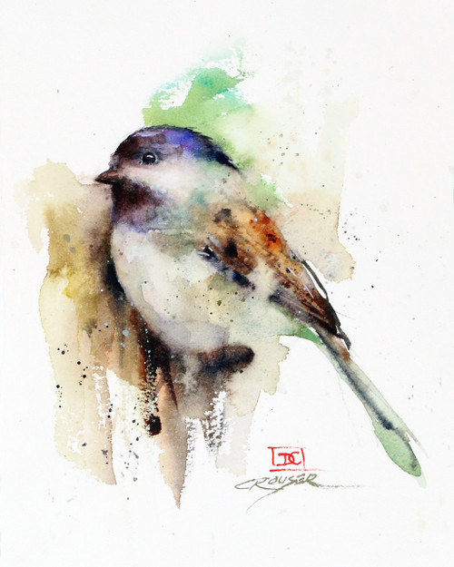 """CHESTER"" bird art from an original watercolor painting by Dean Crouser. Available in a variety of products including signed and numbered limited edition prints, ceramic tiles, greeting cards and more!"