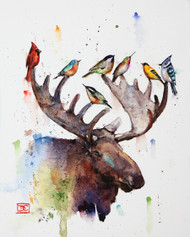 """""""SUMMER TROUT"""" original watercolor fish painting by Dean Crouser. Measures approximately 9"""" tall by 11"""" wide. Here's a great opportunity to own a DC original! Arist retains any and all rights to future use of this image. Thanks for looking!"""