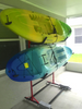storage stand for sit-on-top kayaks