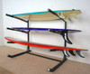 surfboard home floor rack