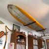 metal surfboard ceiling rack