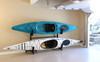Compact Kayak Storage Rack - 2 Boats Freestanding