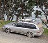 Car travel surfboard roof rack