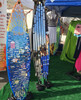 freestanding surfboard display stand