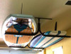 2 ceiling surfboard rack