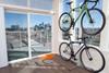 apartment freestanding bike rack
