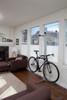 freestanding home bike rack metal