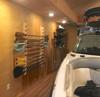 kayak paddle wall storage options