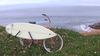 removable surf bike rack