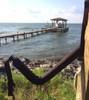 kayak rack on dock