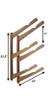 Snowboard Storage Rack | Wood Wall Mount