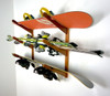 ski and snowboard wall rack