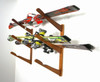 wall rack for skis