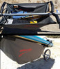 attachable bike trailer storage bag