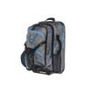 blue camo pull handle padded ski boot bag