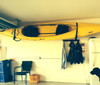 how to store a kayak in your garage