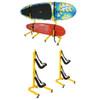 customizable kayak and sup storage rack