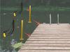 customizable kayak dock rack