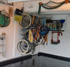hang your bikes in your garage