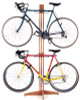 beautiful hard wood bike rack stand