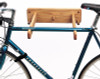 oak solo bike rack wall mount