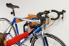 wooden road bike storage rack