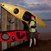 easy to use kayak rack