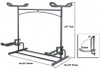 dimensions for kayak stand