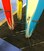 retail shop paddleboard floor stand