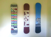 snowboard art display rack