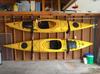 store kayaks in garage