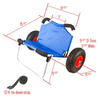 folding kayak dolly dimensions
