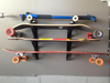 DIY skateboard rack