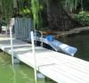 waterside kayak dock storage options