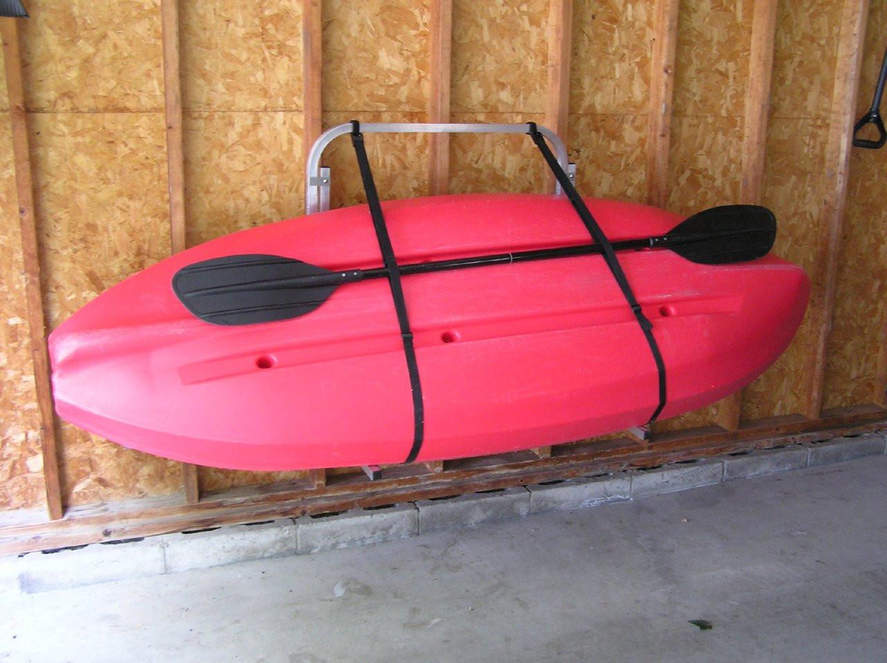 wall mount for dock craft kayak rack