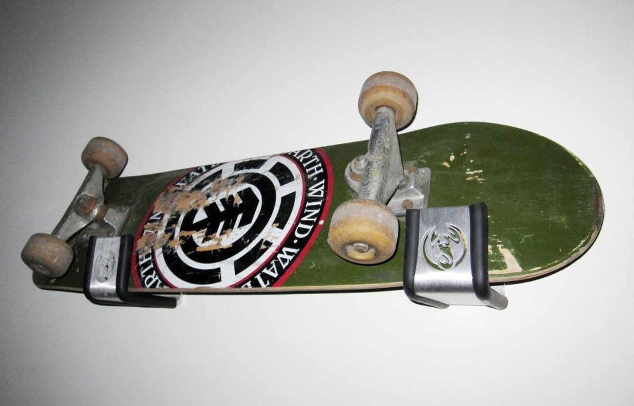 skateboard display logo rack